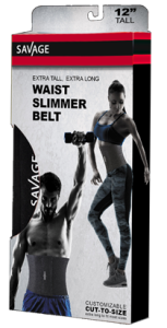 Extra Tall, Extra Long Waist Trimmer Belt
