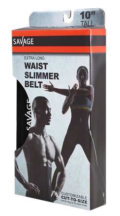 Extra Long Waist Trimmer Belt